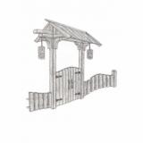 Секции ограждений, ворота, заборы