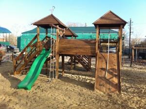"""Игровой комплекс """"Близнецы"""" ИК-02"""