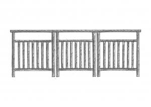 Ограждения лестничные и балконные ОГ-02