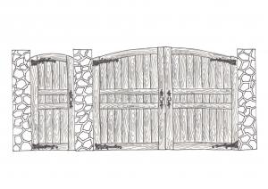 Ворота вт-02