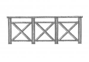 Ограждения лестничные и балконные ОГ-01