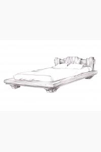 Кровать кр-01
