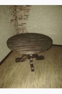 Стол круглый уличный со щелями СТ-02